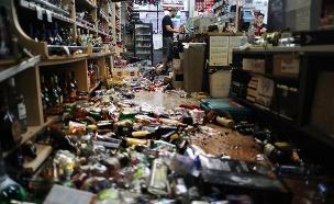 רעידת אדמה עוצמתית בקליפורניה (צילום: CNN, חדשות)