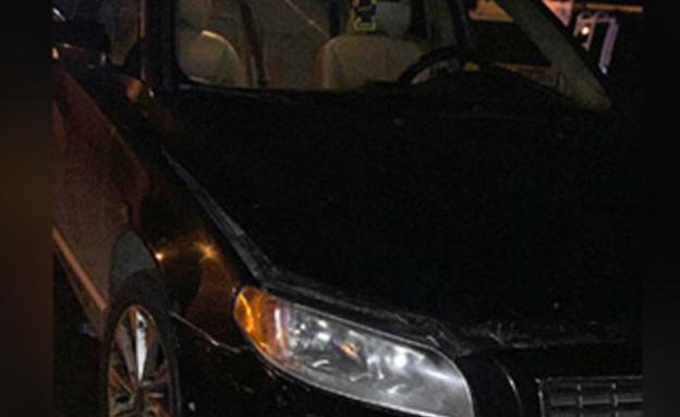 הרכב הפוגע (ארכיון) (צילום: חדשות)