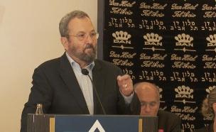 אהוד ברק, בשבוע שעבר (צילום: החדשות)