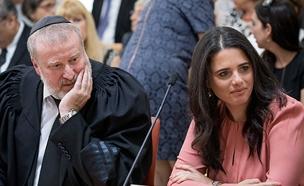 עוד רוצה לחזור למשרד המשפטים (צילום: יונתן סינדל/ פלאש 90, חדשות)