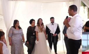 """אורח הכבוד בחתונה: הפרמדיק שהציל את הכלה (צילום: מתוך """"חדשות הבוקר"""" , קשת 12)"""