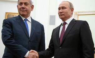 ולדימיר פוטין ובנימין נתניהו (צילום: רויטרס, חדשות)