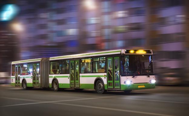אוטובוס, תחבורה ציבורית (אילוסטרציה: 123rf)