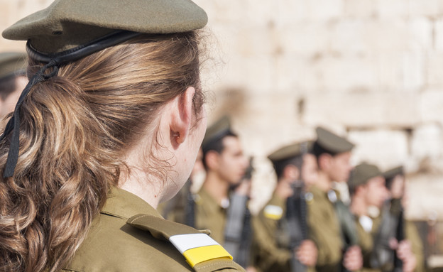 חיילת, צבא (צילום: החדשות 12, חוסין אל אוברה)