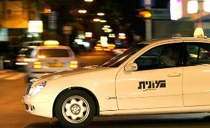 מונית (צילום: משה שי/פלאש 90, חדשות)