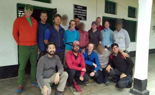 תיעוד הרגעים האחרונים של המשלחת בהימלאיה (צילום: רויטרס, חדשות)