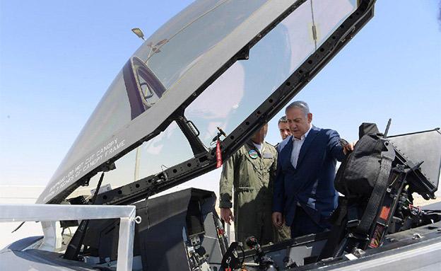 """""""מטוסינו יכולים להגיע לאירן"""" (צילום: עמוס בן גרשום/לע״מ, חדשות)"""