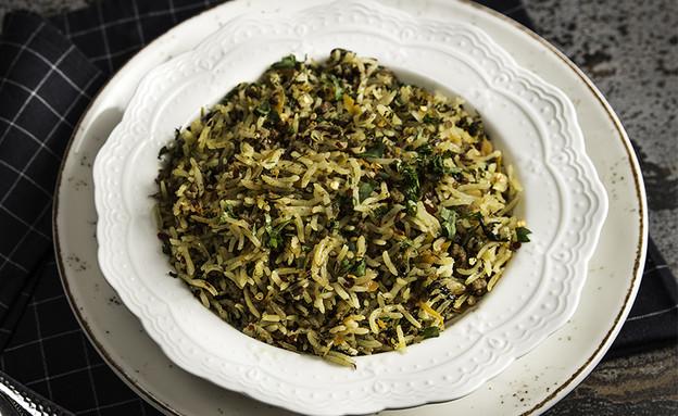 אורז עם בשר טחון (צילום: יעל יצחקי, אוכל טוב)