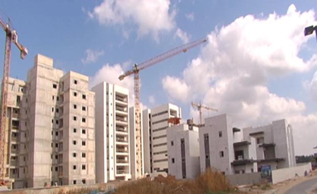 בנייה בעוטף עזה, ארכיון (צילום: חדשות 2)