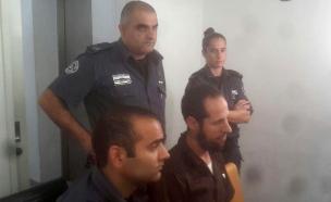 ג'בארין בבית המשפט, לפני כשנתיים (צילום: חדשות 2)