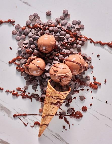 גלידה אליס שוקולד  (צילום: אנטולי מיכאלו, יחסי ציבור)