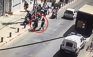 צפו בתיעוד האלימות (צילום: החדשות)