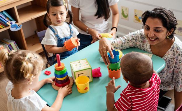 גן ילדים (צילום: By Rawpixel.com, shutterstock)