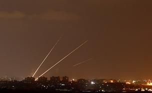 שיגור מעזה לישראל (ארכיון) (צילום: רויטרס, חדשות)