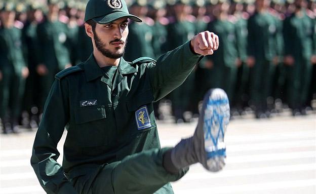 משמרות המהפכה באירן נגד ישראל (צילום: רויטרס, חדשות)