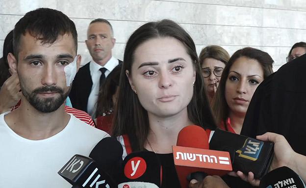 """""""רוצה שתהיה בכלא כל החיים"""", דורינה וינטה (צילום: החדשות)"""