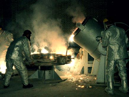 גרעין האירני אורניום כור אירן (צילום: רויטרס)