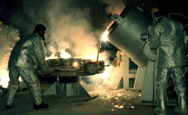 גרעין האירני אורניום כור אירן