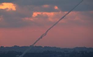 שתי רקטות נורו לעבר עוטף עזה (צילום: רויטרס, חדשות)