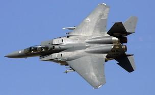 מטוס F-15E (צילום: Ethan Miller, GettyImages)