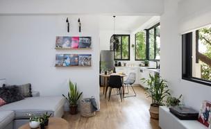דירה בתל אביב, עיצוב אורית דרום - 1 (צילום: שירן כרמל)
