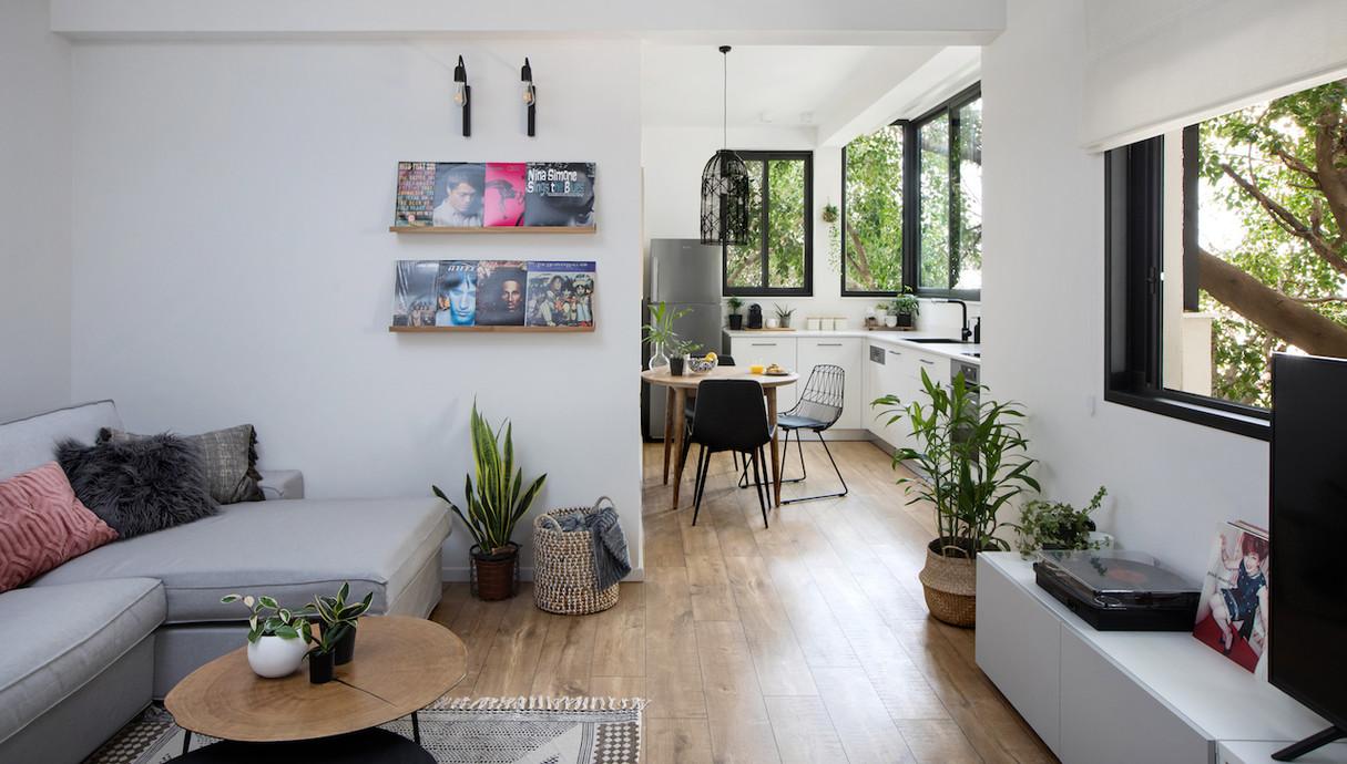 דירה בתל אביב, עיצוב אורית דרום - 1