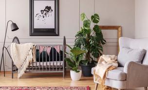 חדר ילדים עם עציצים (צילום: Photographee.eu / Shutterstock.com)