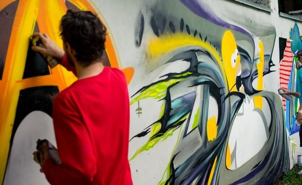 ציור גרפיטי (צילום: dmitro2009, shutterstock)