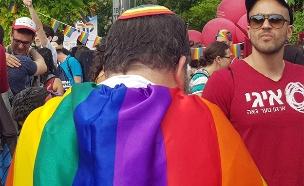 מצעד הגאווה בירושלים, השנה (צילום: חדשות)