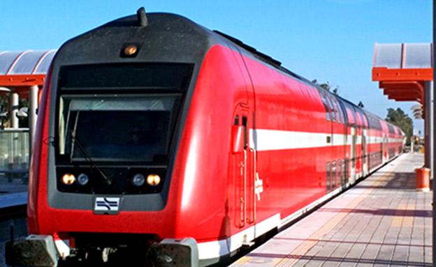 רכבת ישראל (צילום: פלאש 90, חדשות)