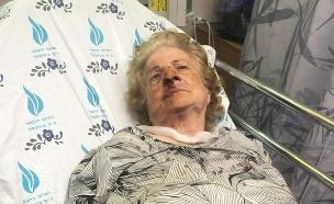 קשישה הוכתה ונשדדה ליד ביתה ביפו (צילום: במקום באדיבות המשפחה, חדשות)