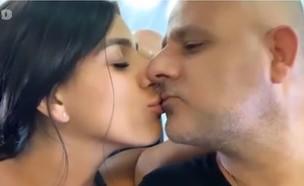 ליאור קוקה מנשקת את אבא שלה בפה (צילום: מתוך הסטורי של ליאור קוקה, מתוך instagram)