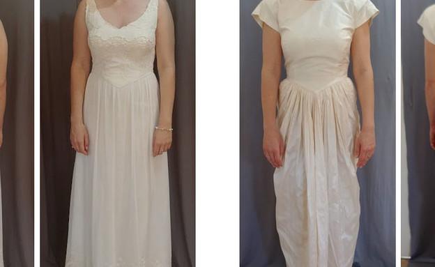 שמלה של אמא של נועם זומרפלד (צילום: בהדרה)