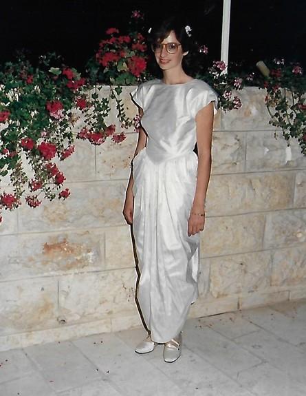 שמלה של אמא של נועם זומרפלד (צילום: פרטי)