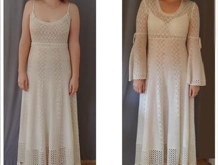 שמלה של אמא אורי שליידר (צילום: בהדרה)
