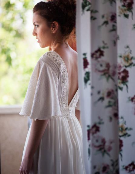שמלה של יהל פורת (צילום: איגור פרברוב)