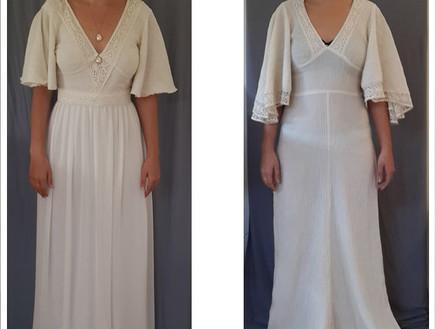 שמלה של אמא של יהל פורת (צילום: בהדרה)