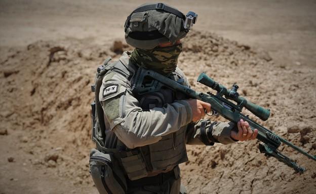 """צלף ימ""""ס (צילום: חטיבת דוברות המשטרה)"""