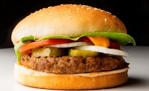 המבורגר טבעוני בורגר ראנץ'  (צילום: עירד נצר, יחסי ציבור)
