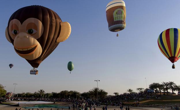 פסטיבל כדורים פורחים בצפון הנגב (צילום: תמרה כהן)