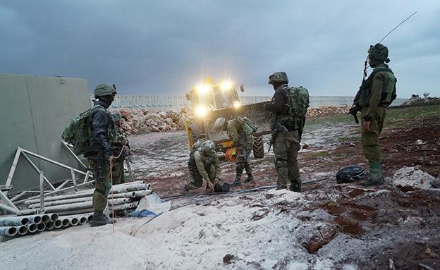 """מבצע מגן צפוני, ארכיון (צילום: דובר צה""""ל, חדשות)"""