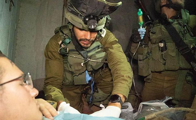צפו: התרגיל החטיבתי המדמה זירת קרב (צילום: דובר צהל, חדשות)