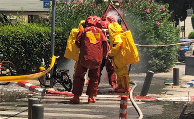 שימוש בחומרי הדברה מסוכנים בתל אביב (צילום: המשרד להגנת הסביבה, חדשות)