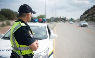 משטרת תנועה (צילום: דוברות המשטרה, חדשות)