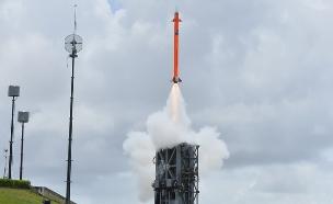 מערכת MRSAM במהלך ניסוי בהודו  (צילום: התעשייה האווירית)