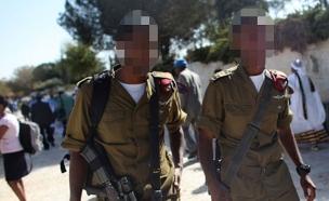 חיילים אתיופים (צילום: רויטרס, חדשות)