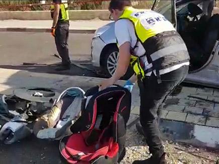 התאונה גבתה את חיי ההורים ותינוקם