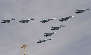 מטוסי הקרב שהוצעו (צילום: RIA Novosti via Getty Images)