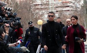 רונאלדו מחוץ לבית המשפט (ארכיון) (צילום: רויטרס, חדשות)