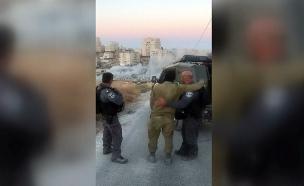 הריסת בתים במזרח ירושלים (צילום: מתוך תיעוד שעלה ברשתות החברתיות, שימוש לפי סעיף 27א לחוק זכויות יוצרים , חדשות)